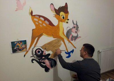 zid crtanje